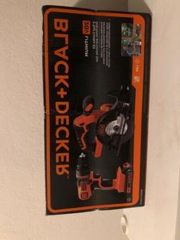 BLACK+DECKER 20V MAX Drill/Driver Circular Saw Combo Kit - B