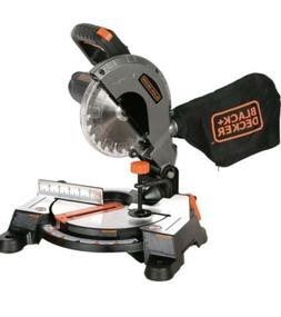 BLACK+DECKER 9 Amp 7-1/4-Inch Compound Miter Saw Electric Wo