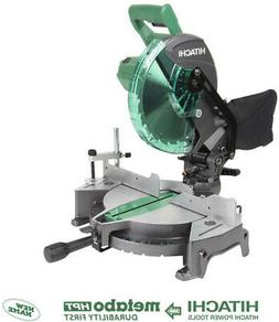 Hitachi C10FCG 10 in. Compound Miter Saw New 15 Amp Single B