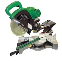 Hitachi C10FSHPS 10 in. Sliding Dual Compound Miter Saw with