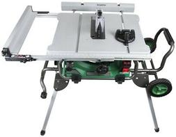 "Hitachi C10RJ 10"" 15Amp Jobsite Table Saw with 35"" Rip Cap +"