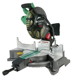Hitachi C12FCH 15 Amp 12-Inch Compound Miter Saw with Laser