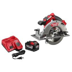Milwaukee Circular Saw With M18 18-Volt 9.0Ah Starter Kit