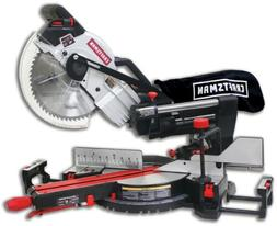 "Craftsman 10"" Compact Sliding Compound Miter Saw with Laser"