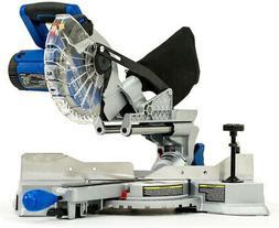 Compound Laser Miter Saw Compact Single Bevel Lightweight 9