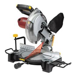 10 Inch Compound Miter Saw with Laser Guide System Bevel 45