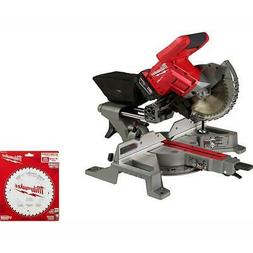 Milwaukee Compound Miter Saw Kit 7-1/4 in 18V L-Ion Cordless