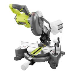 Ryobi Compound Miter Saw Tool Only Blade Wrench Cordless Spi