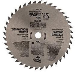 "CRL 7-1/4"" Fire-Tooth Cutoff-Rip Blade"