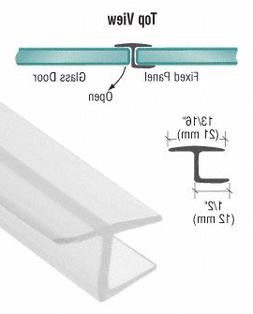 """CR Laurence CRL Y Inline 180 Degree Panel Seal for 3/8"""" Glas"""