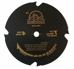 """CastleRock CRPCD185 7-1/4"""" 4 Teeth PCD Hardie Blade"""