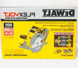 dewalt dcs575t2 circular saw 60v flex volt brake max 2 batte