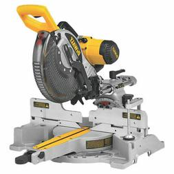 Dewalt DW717 Double Bevel Sliding Compound Miter Saw, 120 V,