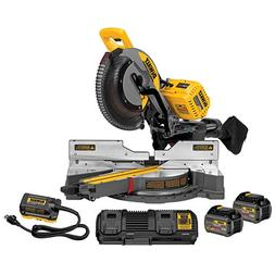"DeWalt DHS790AT2 120V MAX FlexVolt Cordless Brushless 12"" Sl"