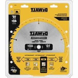 """DeWalt DW3114 10"""" 40T Thin Kerf Table Saw Blade"""