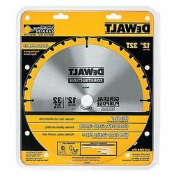 DEWALT DW3123 Series 20 12-Inch 32 Tooth ATB Thin Kerf Gener