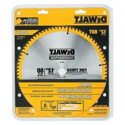 "DeWalt DW3128 Series 20 12"" 80 Tooth Thin Kerf Miter Saw Bla"