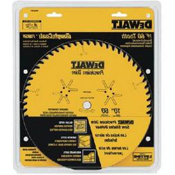 DeWalt DW3215PT Precision Trim 10-Inch 60-Tooth Woodworking