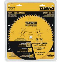 DeWalt DW3215PT Precision Trim 10-Inch 60-Tooth Woodworking