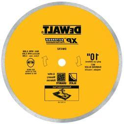 DEWALT DW4762 10-Inch Wet Cutting Continuous Rim Saw Blade w