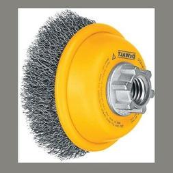 DEWALT DW4920 3-Inch by 5/8-Inch-11 Crimped Cup Brush/Carbon