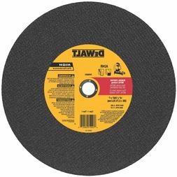 DeWalt DW8001 14 x 7/64 x 1 General Purpose Chop Saw Wheel