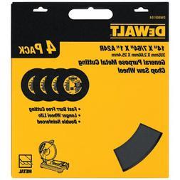 DEWALT DW8001B4 Heavy Duty 14-Inch by 7/64-Inch by 1-Inch Ge
