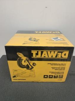 """DeWALT DWS716 15-Amp 12"""" Corded Electric Double Bevel Compou"""