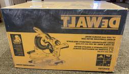 DEWALT DWS780 12 in. Double Bevel Sliding Compound Miter Saw