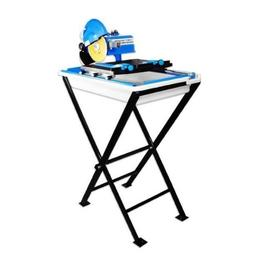 """7"""" Electric Ceramic Tile Saw Cutter Wet Dry w/ Stand Blade L"""