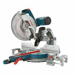 Bosch Compound Miter Saw GCM12SD - 120-Volt, 12-Inch Dual Be