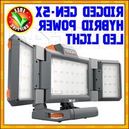 RIDGID GEN5X 18-Volt Hybrid Folding Panel Light 360 LED Lamp
