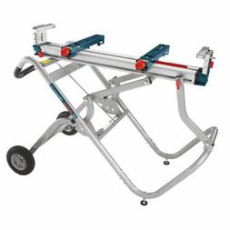 Bosch Gravity-Rise Wheeled Miter Saw Stand T4B New