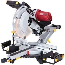Heavy Duty 12 In. Dual-Bevel Sliding Compound Miter Saw With