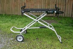 Delta heavy duty Adjustable Miter Saw planer Stand- used LOC