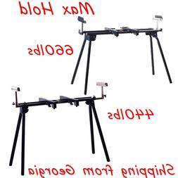 Heavy Duty Miter Saw Stand Foldable Sawhorse Tool Equipment