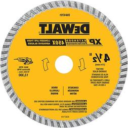 "DeWalt-Industrial4-1/2"" Dry or Wet Cutting Continuous Rim Di"