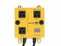 iVac Automated Vacuum Switch - Features Turn On Off Delay No