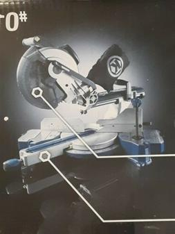 *Kobalt 10 In.15-Amp Bevel Sliding Compound Corded Miter Saw