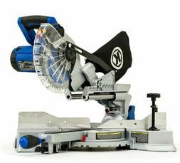 Kobalt Miter Saw Single Bevel Sliding Laser Compound NEW Com