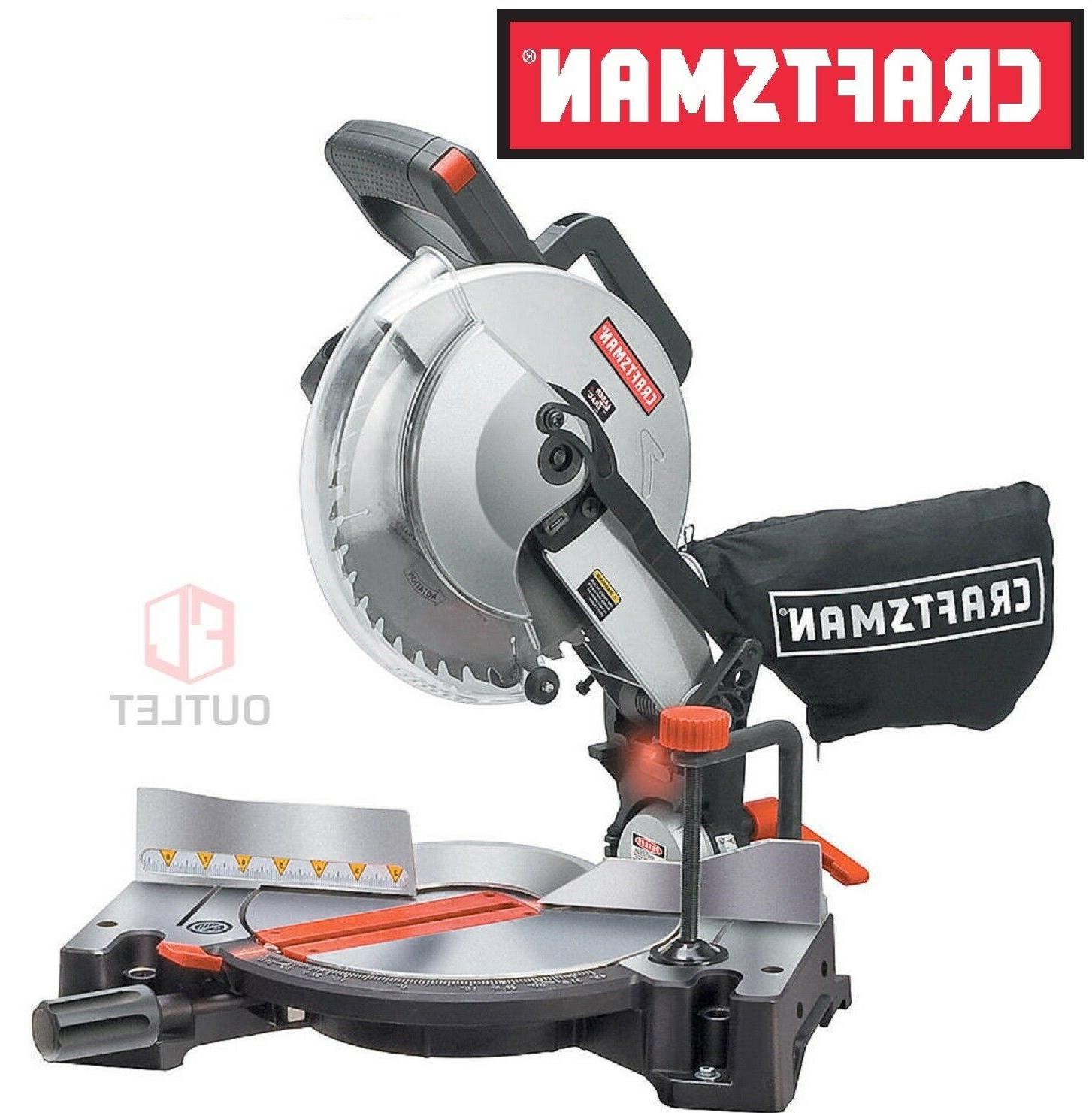 10 compound miter saw with laser trac