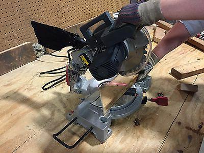 Professional Woodworker 10-inch Miter Saw and tilting