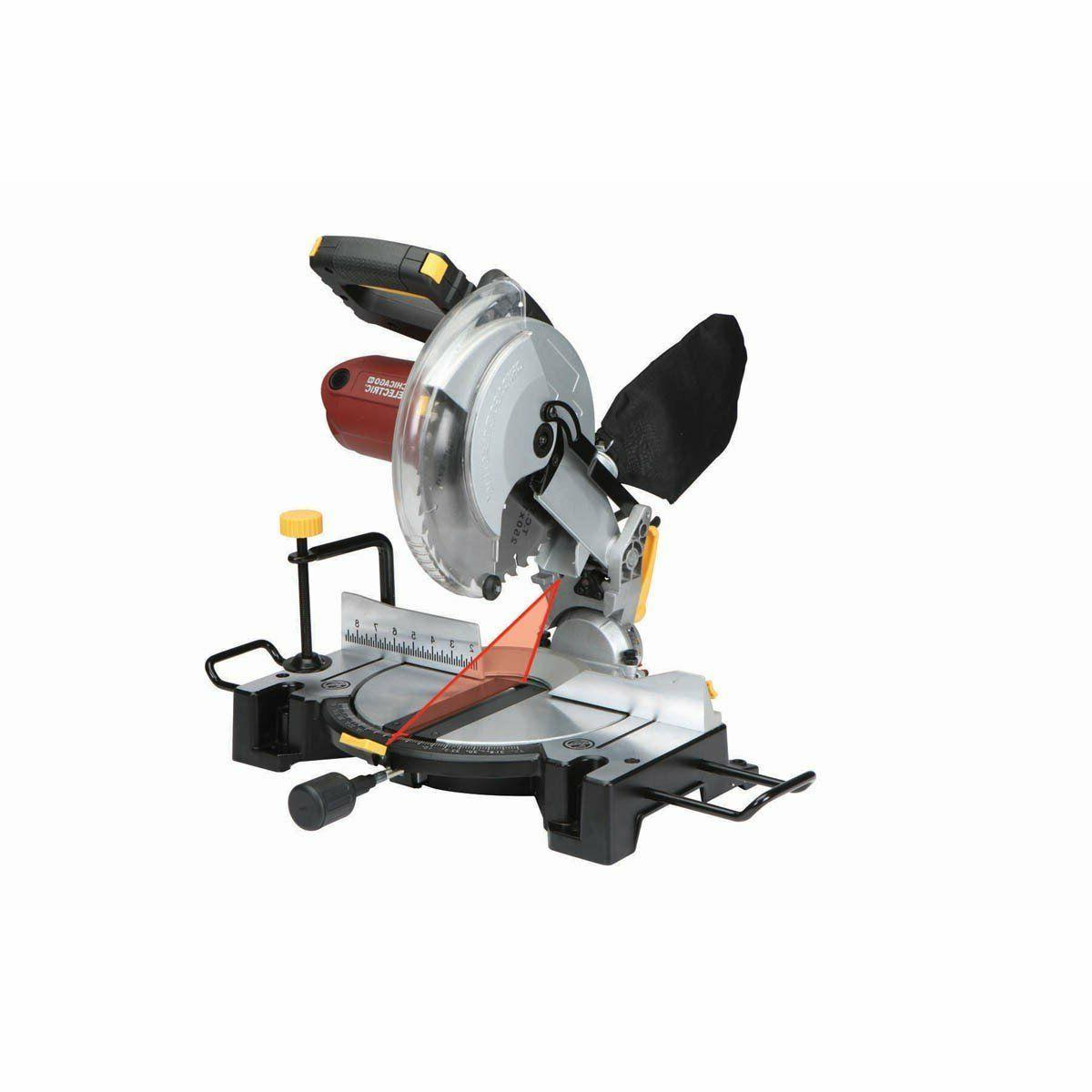 10 inch compound miter saw with laser
