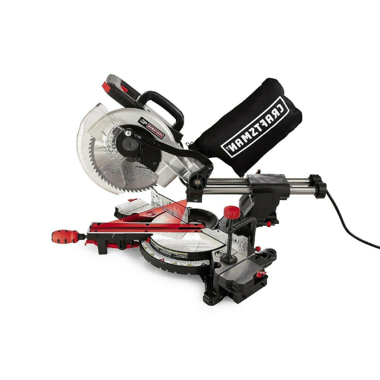 Craftsman Sliding Compound Guided Miter Precision