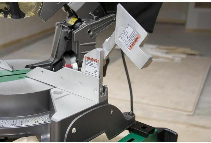 Hitachi 15-Amp Bevel Laser Miter Saw