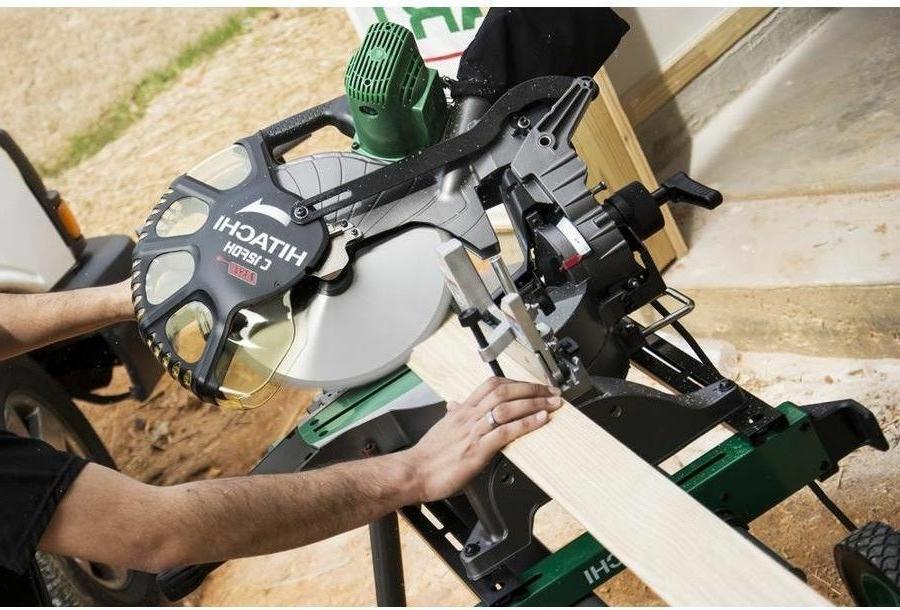 Hitachi Dual Bevel Laser Compound Saw Power Tools Equipment