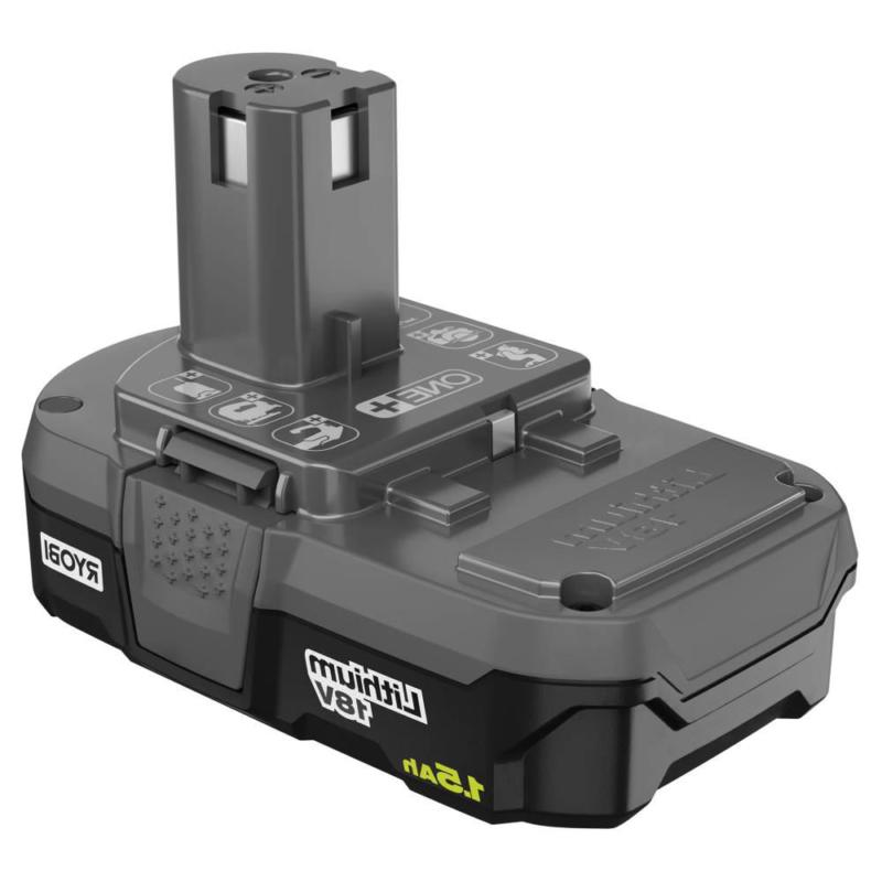 and 18-Volt Cordless Drill/Driver,