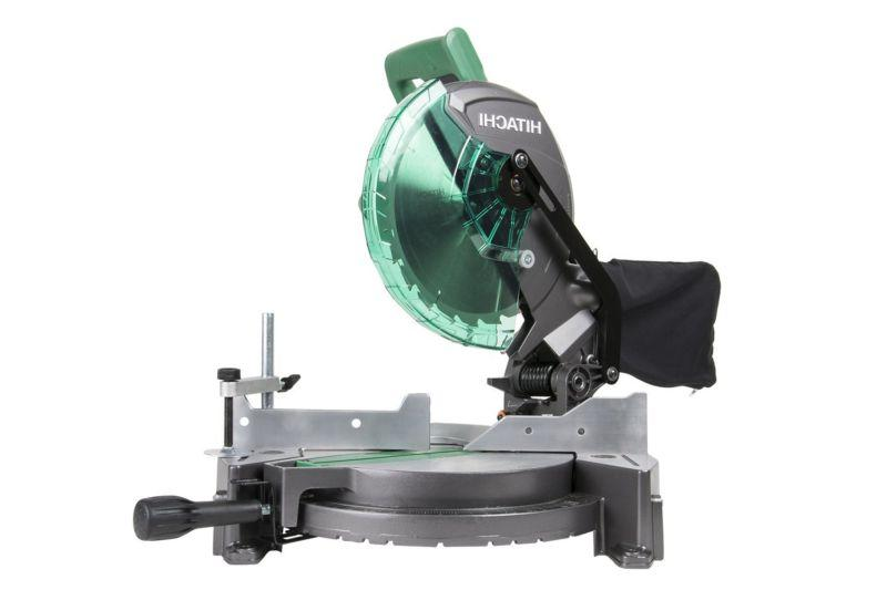 15-Amp 10-inch Single Bevel Compound Miter Saw with Laser Ma