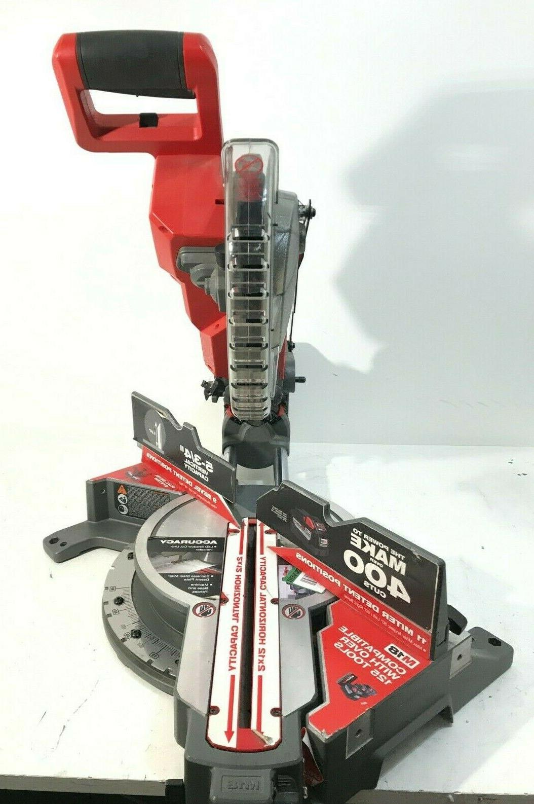 Milwaukee 2734-20 FUEL 10in Dual Miter Saw