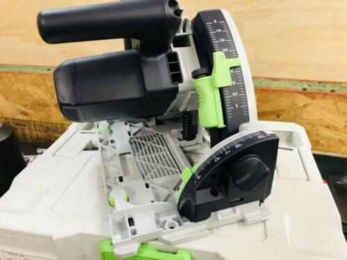 Festool 575387 Plunge Track Saw TS Req-F-Plus